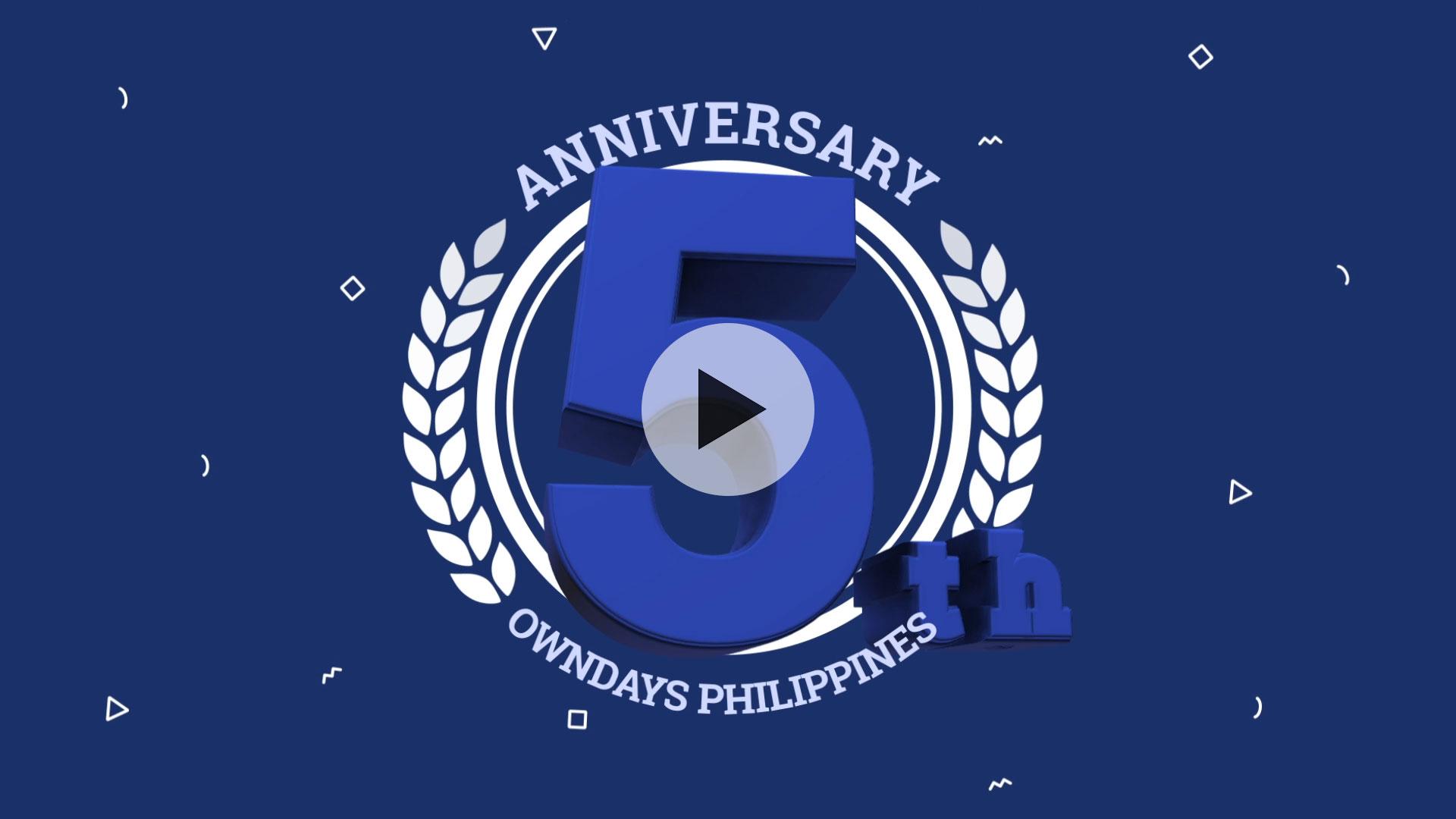 OWNDAYS PHILIPPINES |5 Year Anniversary