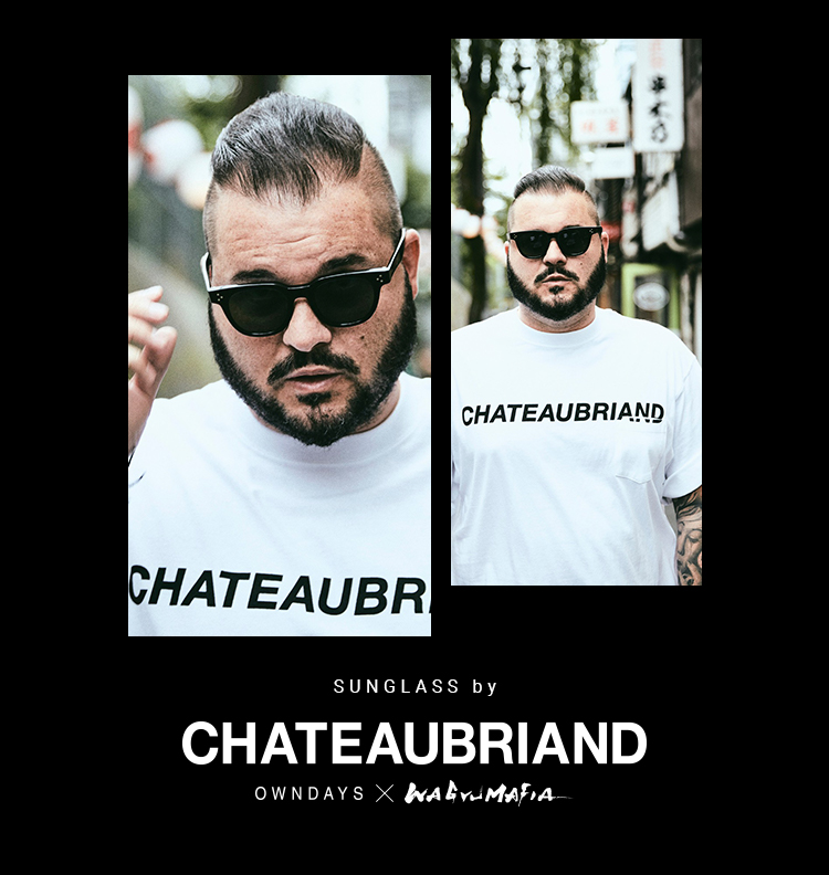 SUNGLASSES by CHATEAUBRIAND - OWNDAYS × WAGYUMAFIA