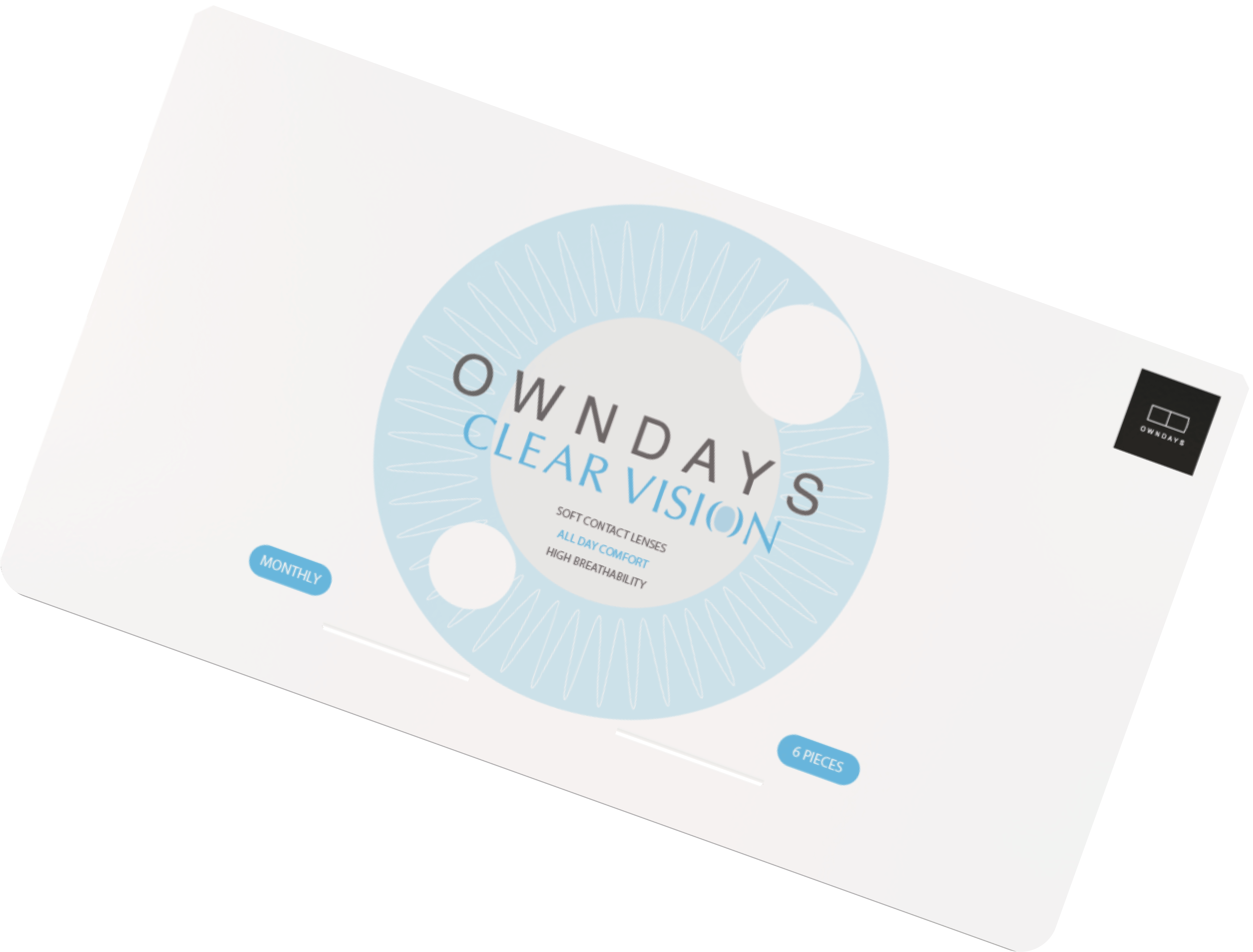 OWNDAYS CLEAR VISION MONTHLY package