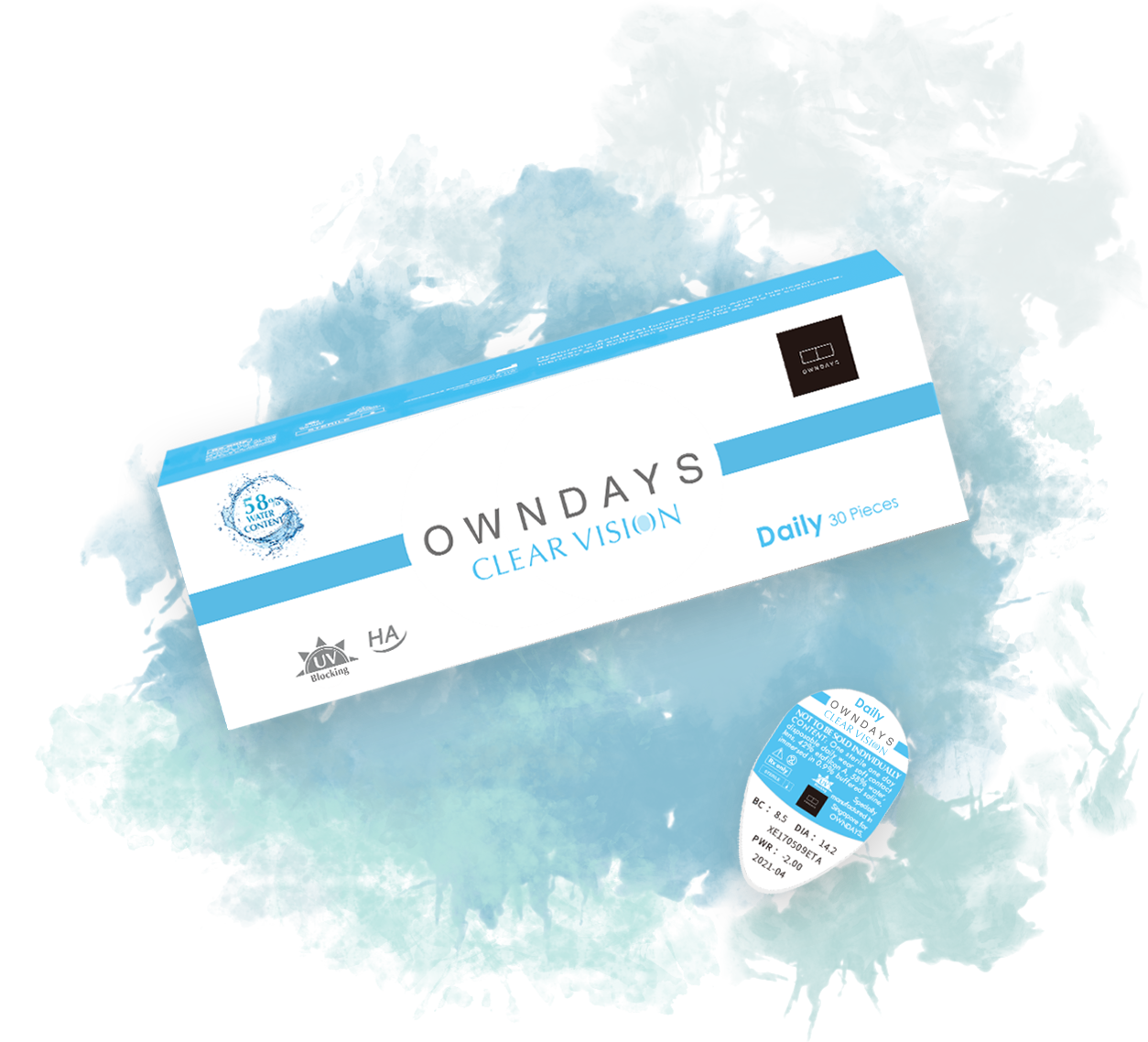 OWNDAYS CLEAR VISION package