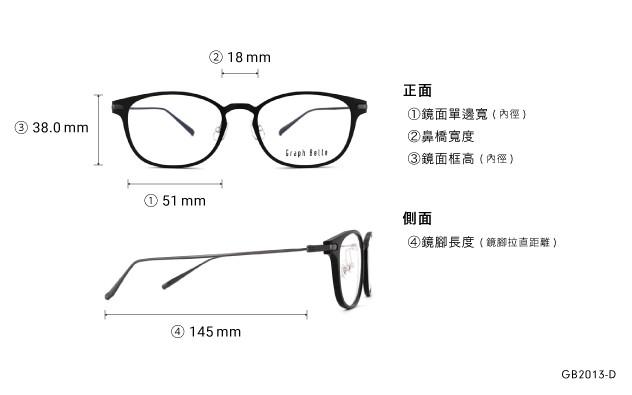 Eyeglasses Graph Belle GB2013-D  Mat Black