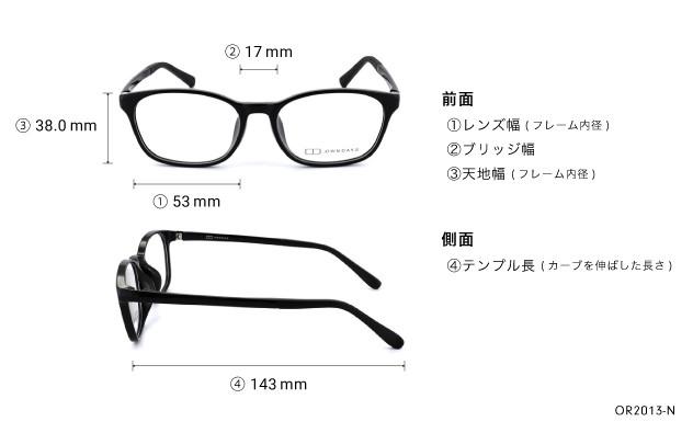 Eyeglasses OWNDAYS OR2013-N  ブラック