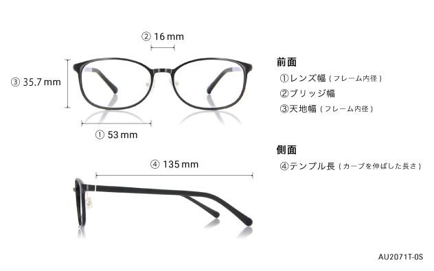 Eyeglasses AIR Ultem AU2071T-0S  ブラック