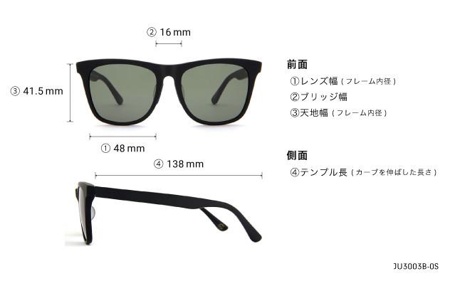 Sunglasses Junni JU3003B-0S  クリアグレー