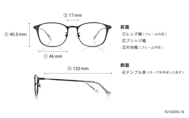 Eyeglasses Junni JU1019G-1S  ブラック