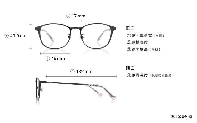 Eyeglasses Junni JU1019G-1S  Black