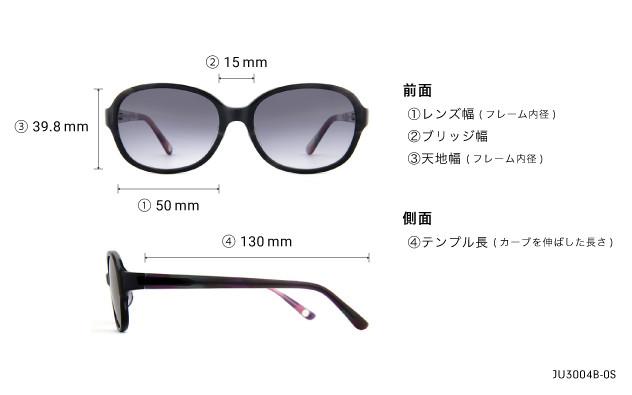 Sunglasses Junni JU3004B-0S  パープル