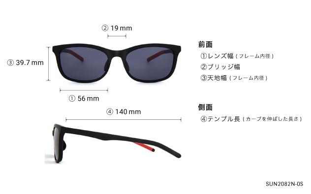 Sunglasses OWNDAYS SUN2082N-0S  グレー