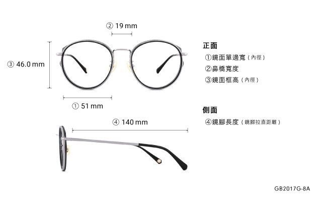 Eyeglasses Graph Belle GB2017G-8A  Gray