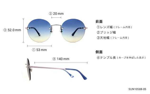 Sunglasses OWNDAYS SUN1058B-0S  ライトガン