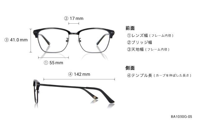 メガネ Based BA1030G-0S  ブラック