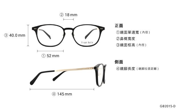 Eyeglasses Graph Belle GB2015-D  Black