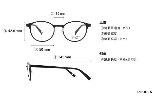 Eyeglasses OWNDAYS SNAP SNP2010-N  Black