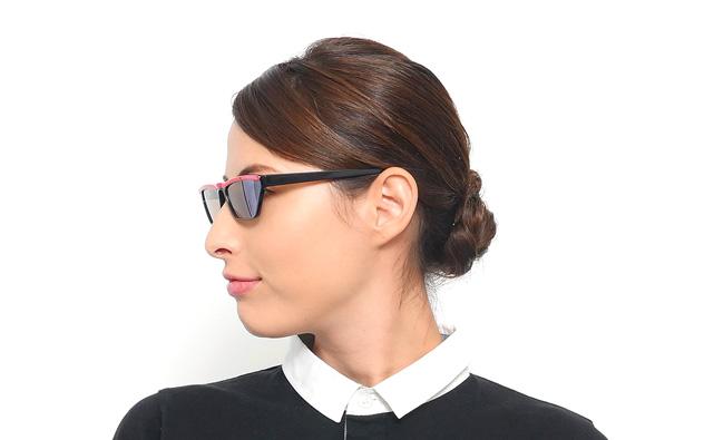 Sunglasses OWNDAYS SW3001B-8A  ブラック