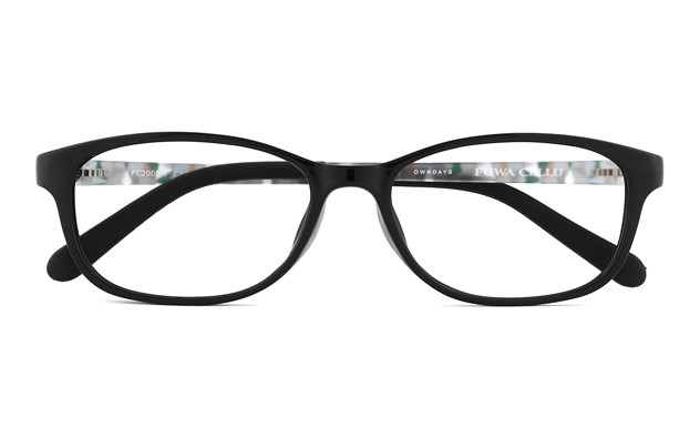 Eyeglasses FUWA CELLU FC2008-T  ブラック