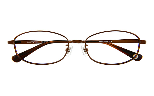 Eyeglasses OWNDAYS OR1038T-9S  ダークブラウン