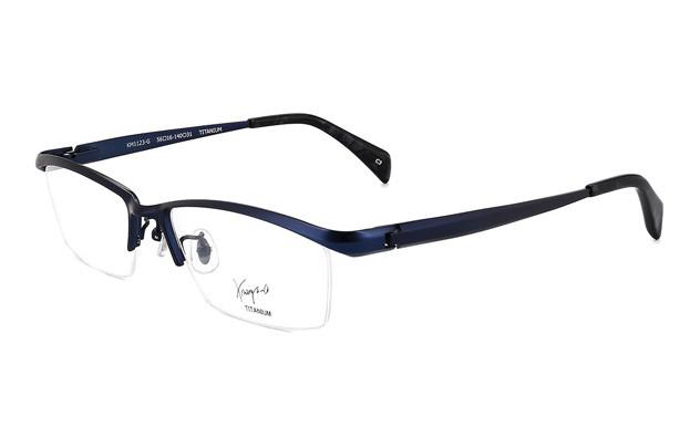Eyeglasses K.moriyama KM1123-G  マットネイビー