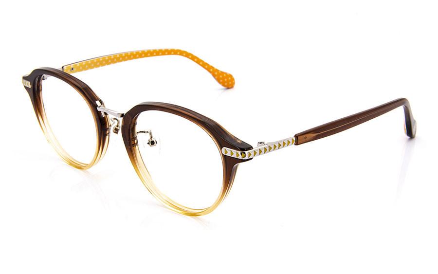 Eyeglasses DEMON SLAYER -KIMETSU NO YAIBA- KMTY2003Y-1S  Brown