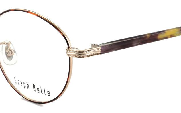 Eyeglasses Graph Belle GB1006-T  ブラウンデミ