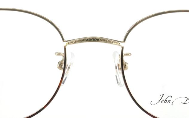 Eyeglasses John Dillinger JD1001-Y  ブラウンデミ