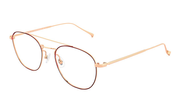 Eyeglasses Graph Belle GB1018G-8A  レッド