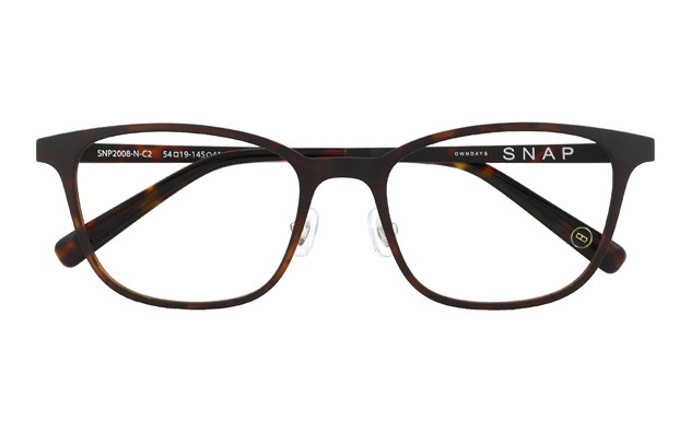 Eyeglasses OWNDAYS SNAP SNP2008-N  ブラウンデミ