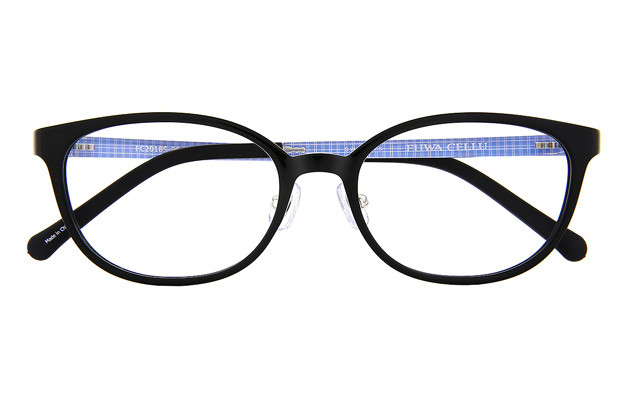 Eyeglasses FUWA CELLU FC2018S-0S  Black