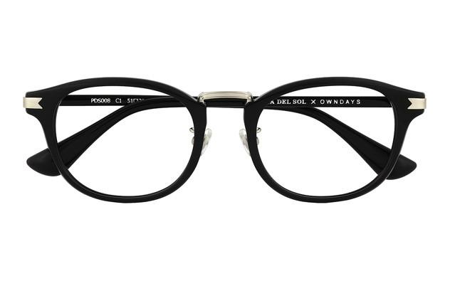 Eyeglasses PUERTA DEL SOL x OWNDAYS PDS008  ブラック