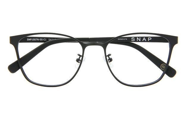 Eyeglasses OWNDAYS SNAP SNP1007N-0S  Mat Black