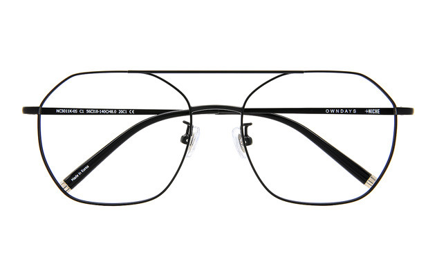 Eyeglasses +NICHE NC3011K-0S  マットブラック
