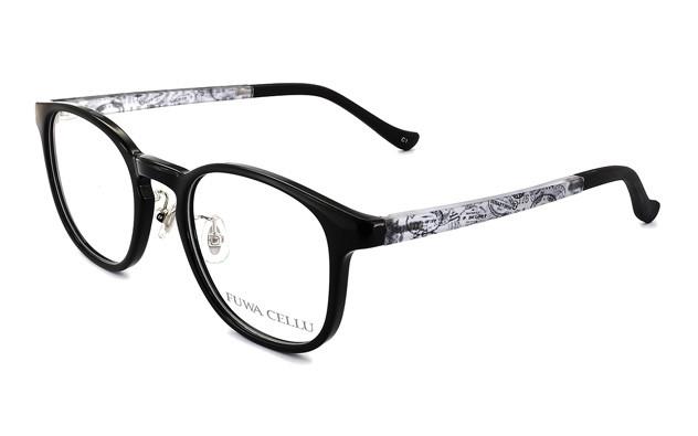 Eyeglasses FUWA CELLU FC2004-T  ブラック