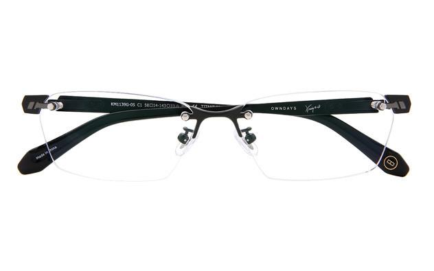 Eyeglasses K.moriyama KM1139G-0S  マットブラック