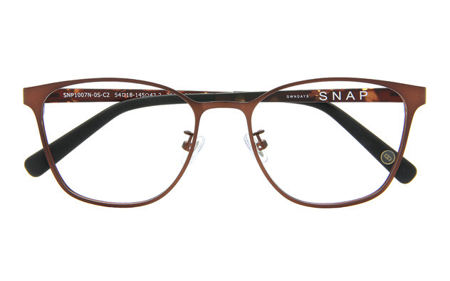 Eyeglasses OWNDAYS SNAP SNP1007N-0S  Mat Brown