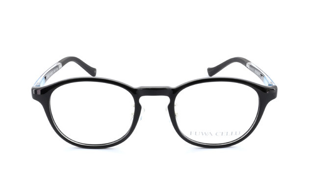 Eyeglasses FUWA CELLU FC2002-T  Black