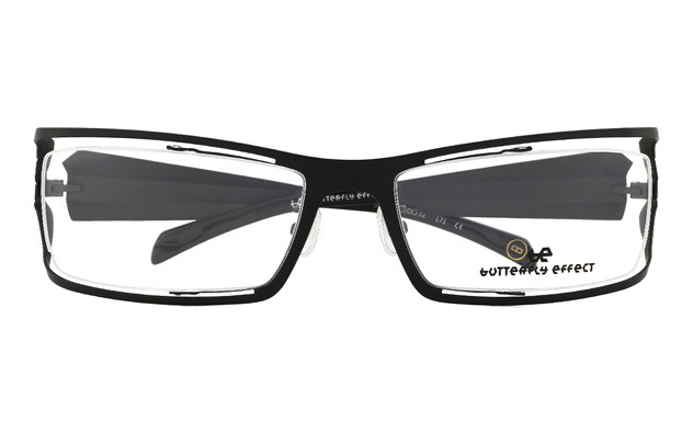 Eyeglasses BUTTERFLY EFFECT BE1002-T  Mat Black