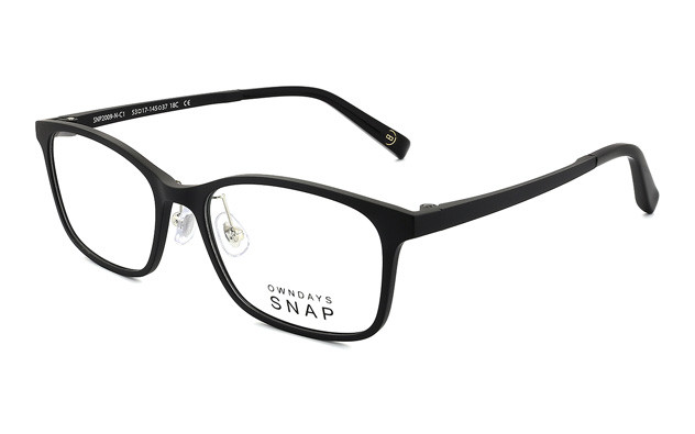 Eyeglasses OWNDAYS SNAP SNP2009-N  ブラック