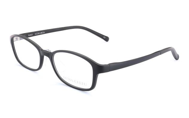 Eyeglasses FUWA CELLU TR2023  Mat Black