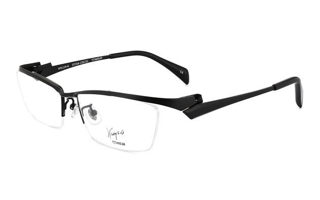 Eyeglasses K.moriyama KM1124-G  Mat Black
