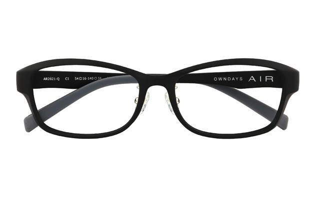 Eyeglasses AIR For Men AR2021-Q  マットブラック