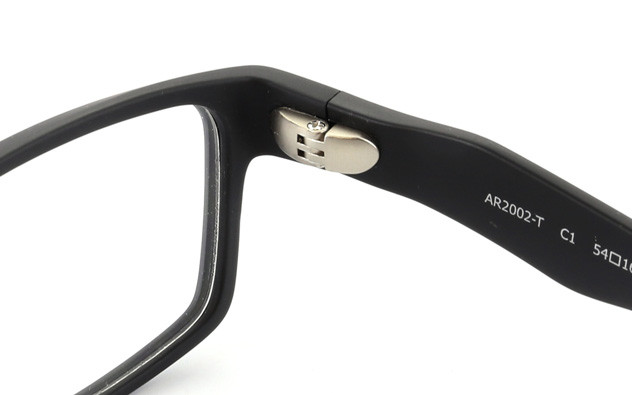 Eyeglasses AIR For Men AR2002-T  マットブラック