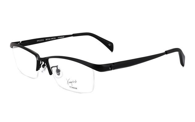 Eyeglasses K.moriyama KM1123-G  マットブラック