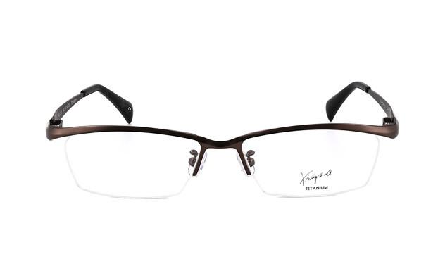 Eyeglasses K.moriyama KM1123-G  Mat Gun