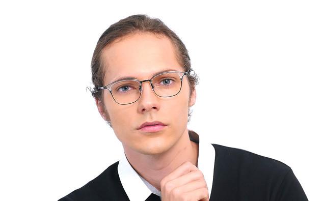 Eyeglasses John Dillinger JD2017-T  Black