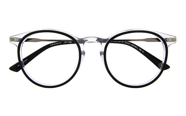 Eyeglasses John Dillinger JD2032G-9S  ブラック
