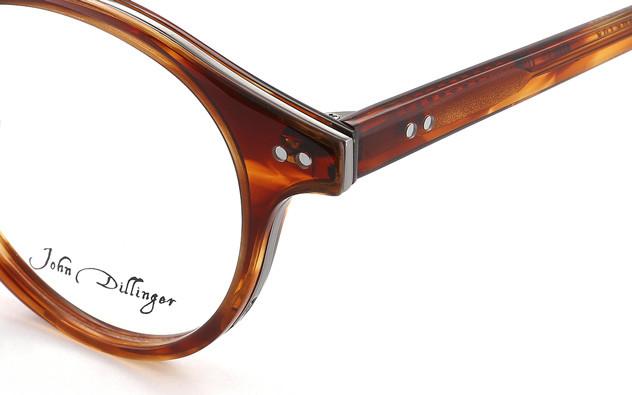 メガネ John Dillinger JD2011-D  ライトブラウン