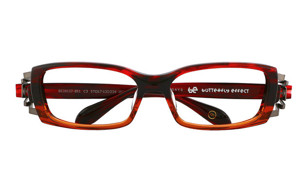 メガネ BUTTERFLY EFFECT BE2012J-8S  レッド