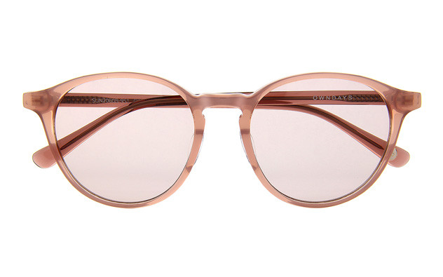 Sunglasses OWNDAYS SUN2060B-9S  ピンク