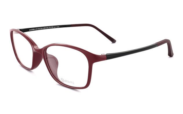 Eyeglasses ECO2XY ECO2008-K  ワイン