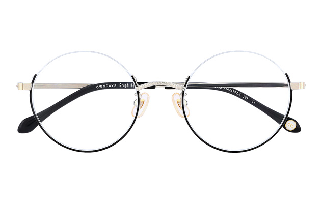 Eyeglasses Graph Belle GB1019G-8A  ブラック
