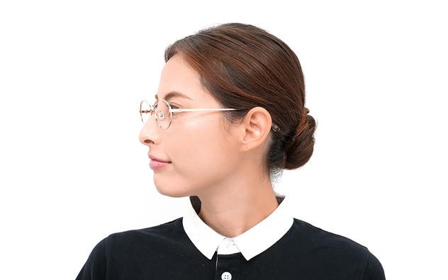 Eyeglasses Calmo CL1010G-0S  ブラウンデミ